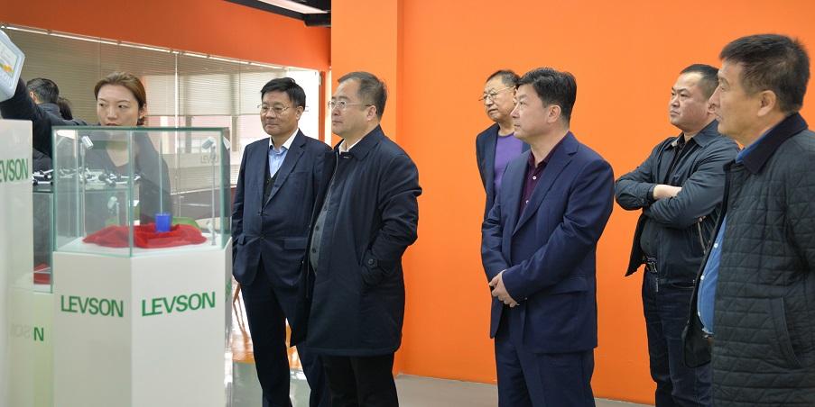 黑龙江省鸡西市麻山区宋学东区长一行莅临利物盛集团参观、调研